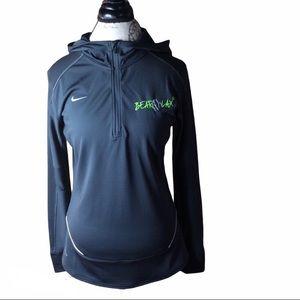 Nike BearLax Dri-Fit Training 1/4 Zip Hood…